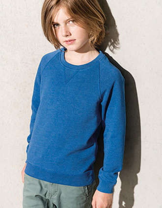 Sweater bio raglanmouwen kids