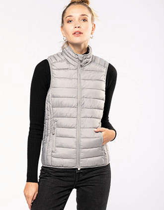 Ladies' lightweight sleeveless down jacket