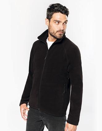 Marco - Zware fleece met rits