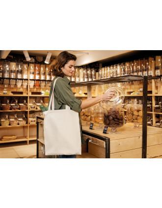 Klassieke shopper van biologisch katoen