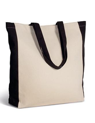 Tweekleurige shopper
