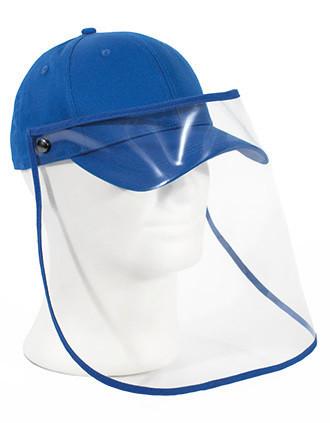 Cap met transparante visor