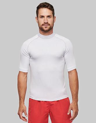 Functioneel t-shirt met korte mouwen en UV-bescherming
