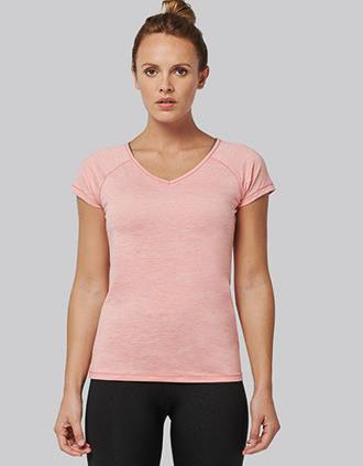 T-shirt sportiva donna eco-sostenibile