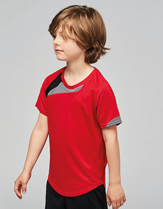 Sportshirt korte mouwen kids