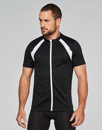 Heren-fietsshirt Korte Mouwen