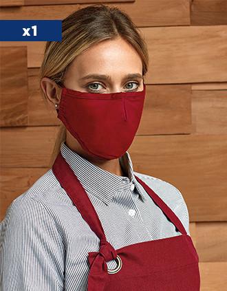 Herbruikbaar mondmasker 3 laags - verstelbaar - AFNOR UNS1