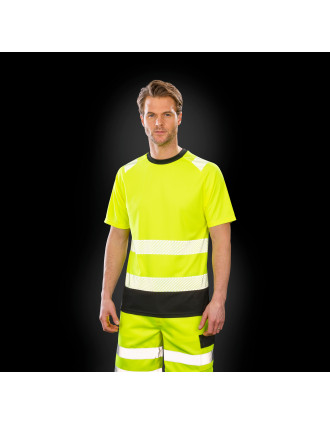 Gerecycled veiligheids-T-shirt