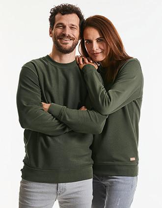 Omkeerbare sweater Pure Organic