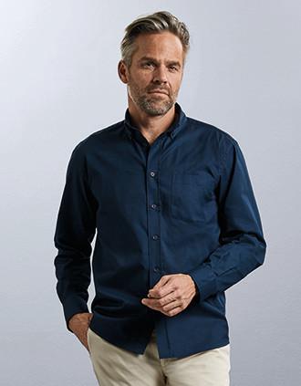 Men's Long Sleeve Classic Twill Shirt