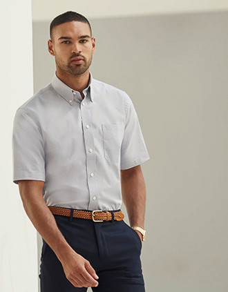 Short Sleeve Oxford Shirt (65-112-0)