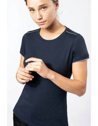 Dames-t-shirt DayToDay korte mouwen